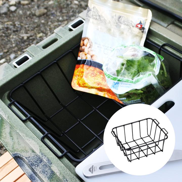 クーラーボックス オプション アイスエイジ 購入 バスケット クーラーボックス用 ICELAND COOLERS 予約 AGE coolers 収納 ICE アイスエイジ用オプション アウトドア