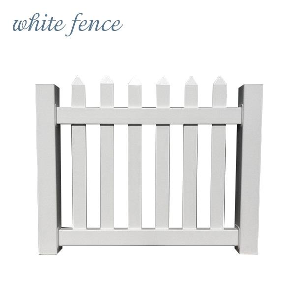 【ホワイトフェンス】【目隠し】【樹脂】「カントリーゲートL」