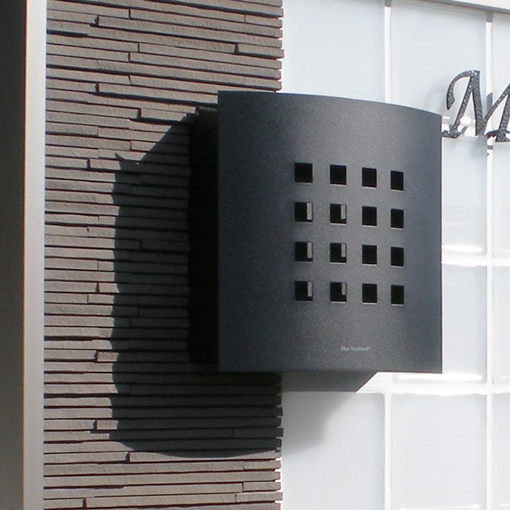 郵便ポスト 壁付け 壁掛けポスト「マックスノブロック Kyoto:キョウト 壁掛けタイプ」【送料無料】日本の古都「京都」をイメージした大人気デザイン!郵便受け 郵便ポスト ポスト POST