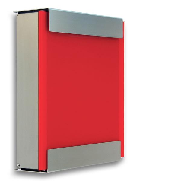 【郵便ポスト】 「カイルバッハ glasnost.glas.red グラスノストグラス レッド」ドイツ製 ポスト 【POST】【送料無料】