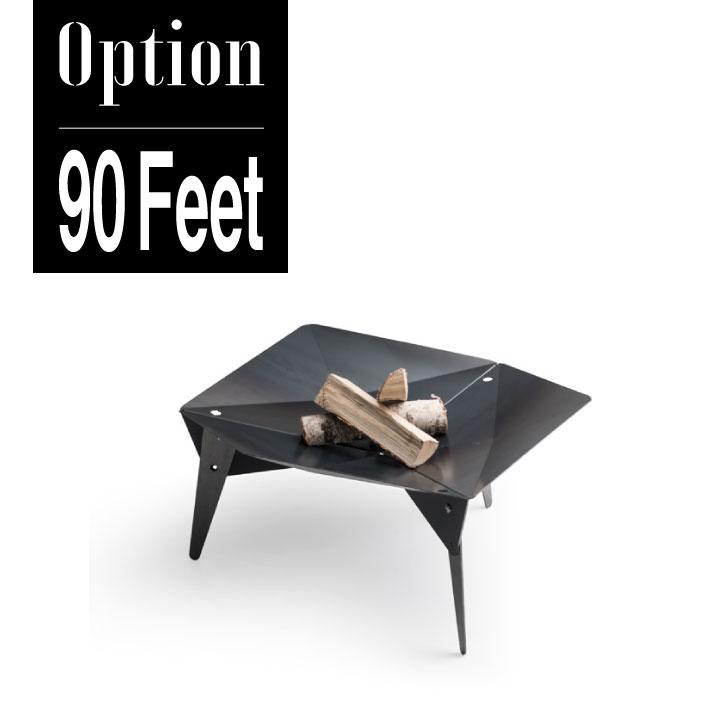 【BBQグリル】【焚火台】【オプション】「Hoefats TRIPLE専用 脚 90Feet」