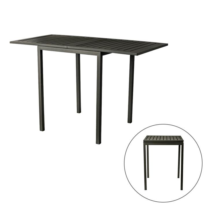 【ガーデンテーブル】【天板折り畳み式】「チェス(CHESS) ガーデンテーブル」