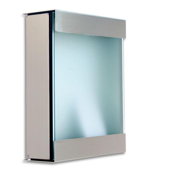 ドイツ製郵便ポスト「カイルバッハ glasnost.glas.360 グラスノストグラス W360」【送料無料】