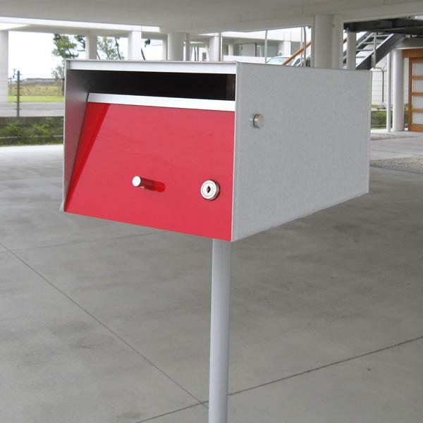 ポスト スタンド【送料無料】「アーバンポスト:スタンドセット」シンプルデザイン 郵便受け 北欧 スタンドタイプ ポスト・スタンドセット