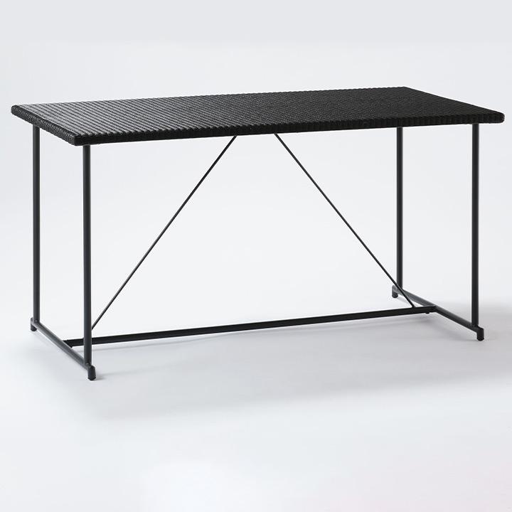 【パティオプティ】【人工ラタン】【エクステリア】「MA-ダイニングテーブル 4人掛け」