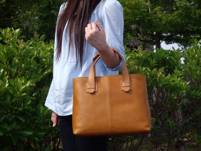 鞄職人が作る軽量本革トートバッグNo.1507ショートハンドル【送料無料】【smtb-k】【ky】