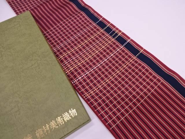 龍村美術織物 たつむら製 連子間道袋帯【q新品】【着】宗sou