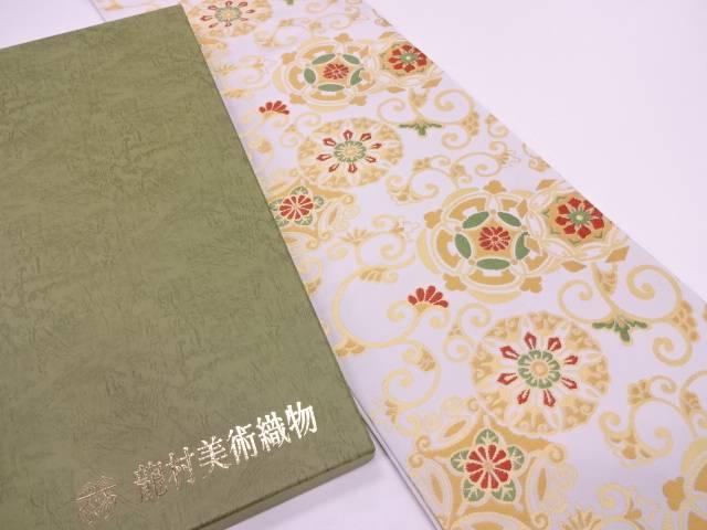 龍村美術織物 たつむら製 蒔絵唐草文袋帯【q新品】【着】宗sou