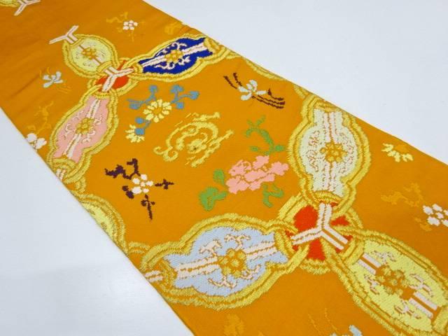 龍村平蔵製 万代蜀紅錦袋帯【リサイクル】【中古】【着】 宗sou