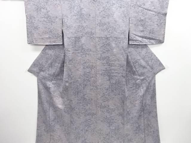 きぬたや謹製 藤娘板締め絞り抽象模様暈し小紋着物【リサイクル】【中古】【着】 宗sou