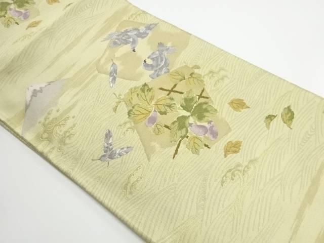 未使用品 初夢模様織り出し袋帯【リサイクル】【着】 宗sou