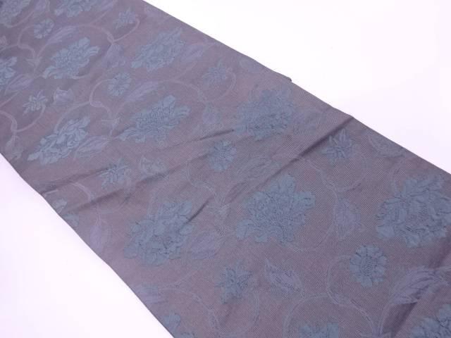 二重蔓唐草牡丹文織出し袋帯【リサイクル】【中古】【着】 宗sou