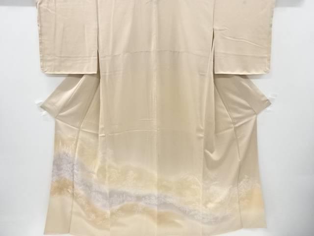 京名所模様三つ紋色留袖【リサイクル】【中古】【着】 宗sou