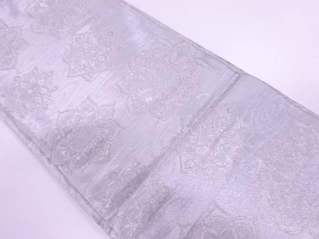 華紋に水面模様織出し袋帯【リサイクル】【中古】【着】 宗sou