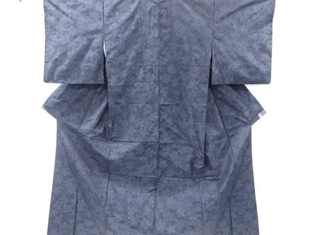菊模様織り出し本場泥大島紬着物アンサンブル【リサイクル】【中古】【着】 宗sou