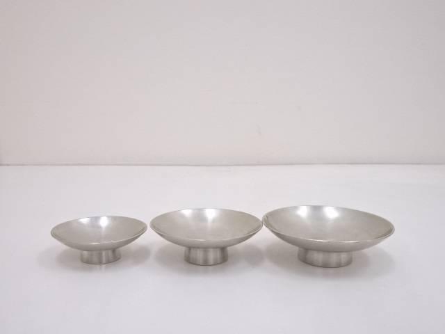錫半造 錫製三ツ盃(297g)【中古】【道】 宗sou