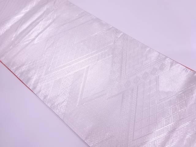 佐賀錦古典柄模様織出しリバーシブル袋帯【リサイクル】【中古】【着】 宗sou