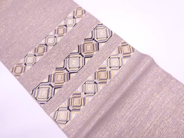 モール抽象模様袋帯【リサイクル】【中古】【着】 宗sou