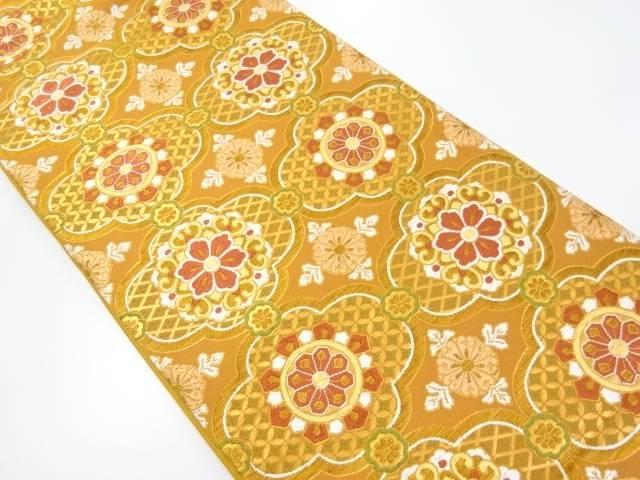 華紋織り出し袋帯【リサイクル】【中古】【着】 宗sou