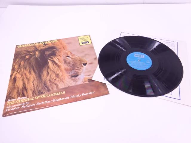 THE CARNIVAL OF THE ANIMALS LPレコード【中古】【道】 宗sou