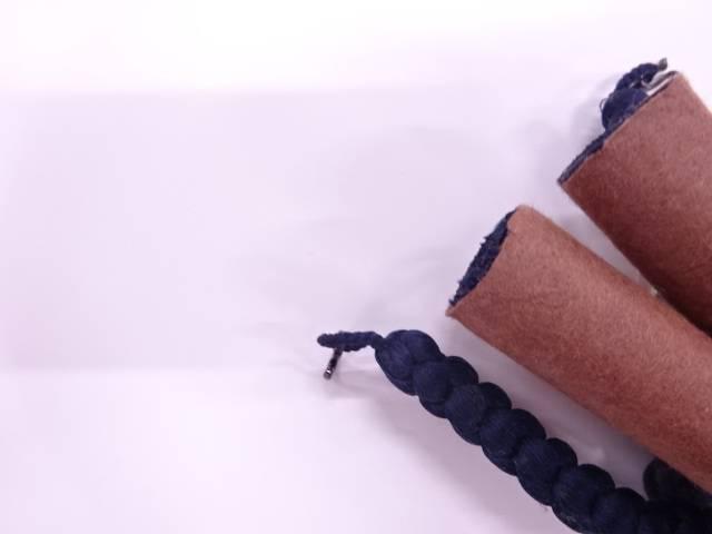 未使用品 正絹 男物羽織紐【リサイクル】【着】 宗sou
