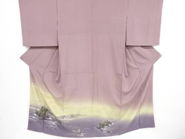 作家物 二見浦模様一つ紋色留袖【リサイクル】【中古】【着】 宗sou