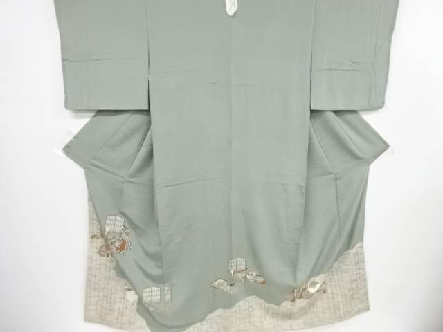 未使用品 松尾光琳作 「古都の雅」一つ紋色留袖【リサイクル】【着】 宗sou