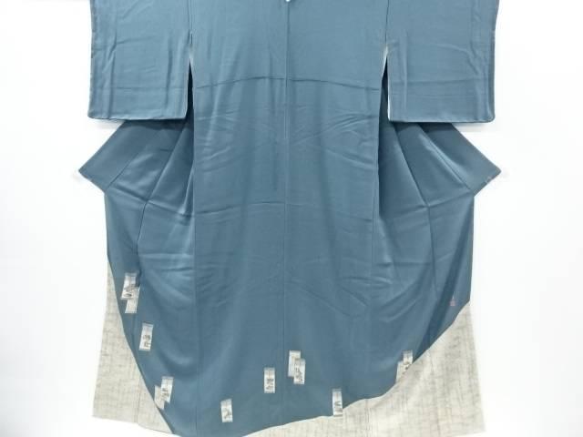 未使用品 松尾光琳作 源氏物語模様一つ紋色留袖【リサイクル】【着】 宗sou
