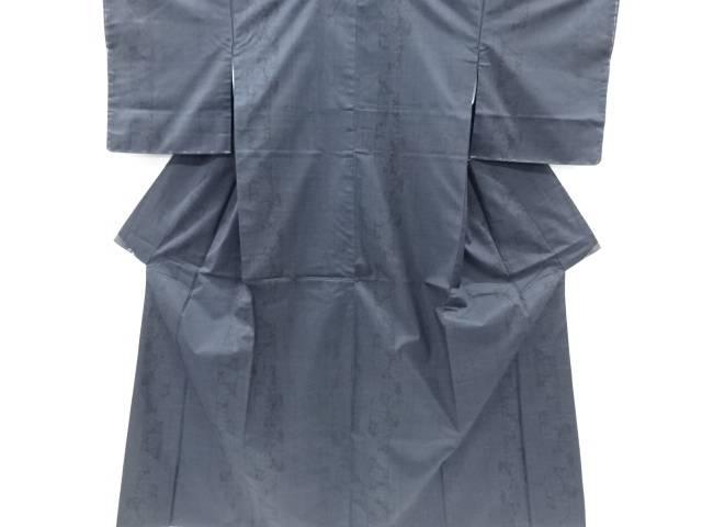 未使用品 壷垂れに菊模様織出本場泥大島紬着物(5マルキ)【リサイクル】【着】 宗sou