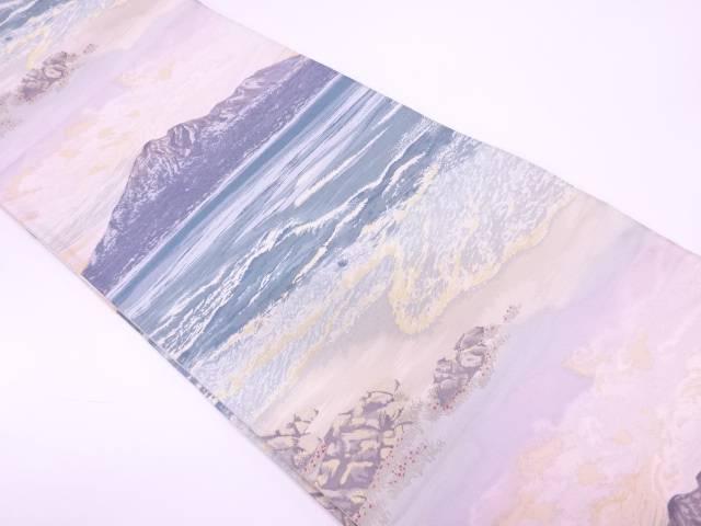 日本百景織出し袋帯【リサイクル】【中古】【着】 宗sou