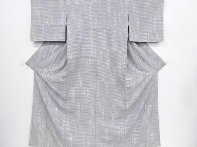 未使用品 仕立て上がり 幾何学模様小紋着物【着】 宗sou