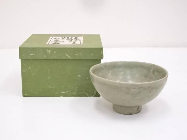 古物 青磁釉茶碗【中古】【道】 宗sou