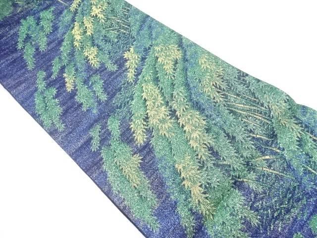 未使用品 摩樹梨花織り出し袋帯【リサイクル】【着】 宗sou