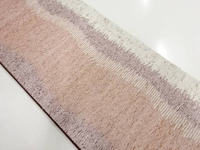 変わり織り横段織り出し袋帯【リサイクル】【中古】【着】 宗sou