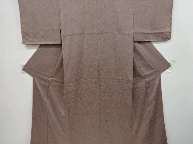 板締め絞り抽象模様小紋着物【リサイクル】【中古】【着】 宗sou