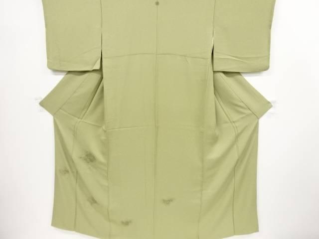 ドロンワーク雲取りに華紋模様刺繍一つ紋色留袖【リサイクル】【中古】【着】 宗sou