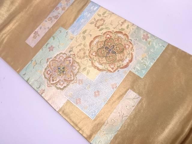 金彩螺鈿華紋模様袋帯【リサイクル】【中古】【着】 宗sou
