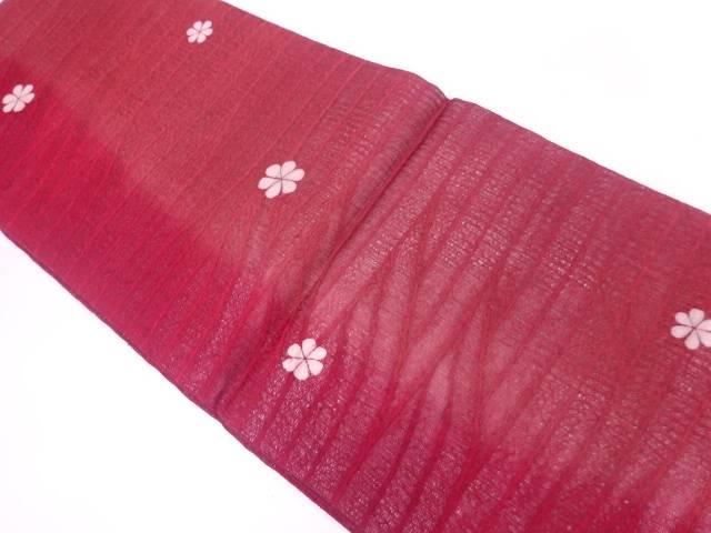 すくい織花模様織出し全通袋帯【リサイクル】【中古】【着】 宗sou