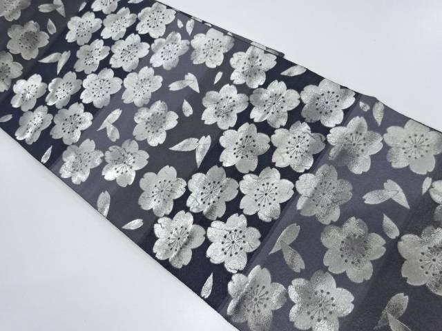 桜尽くし模様織出し袋帯【リサイクル】【中古】【着】 宗sou