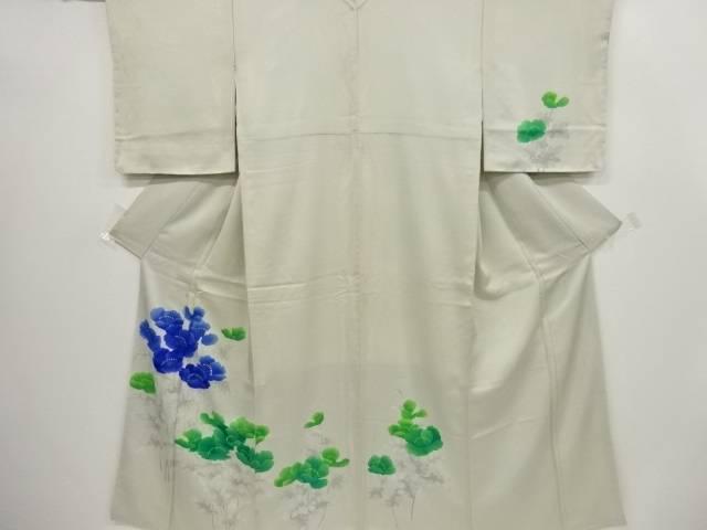 牡丹模様刺繍訪問着 リサイクル着宗soun8ONXwP0k