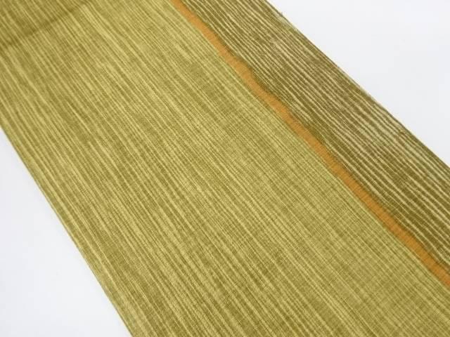 縞模様織出し全通袋帯【リサイクル】【中古】【着】 宗sou