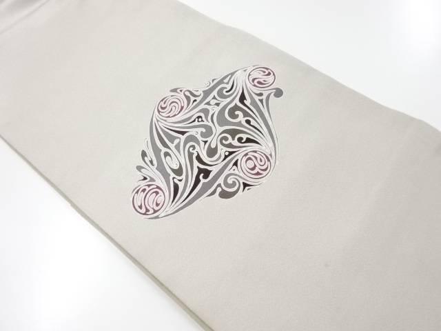 抽象更紗模様袋帯【リサイクル】【中古】【着】 宗sou