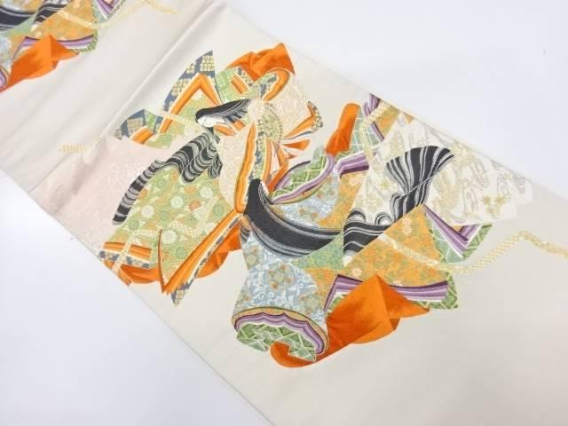 女皇栄華織出し袋帯【リサイクル】【中古】【着】 宗sou