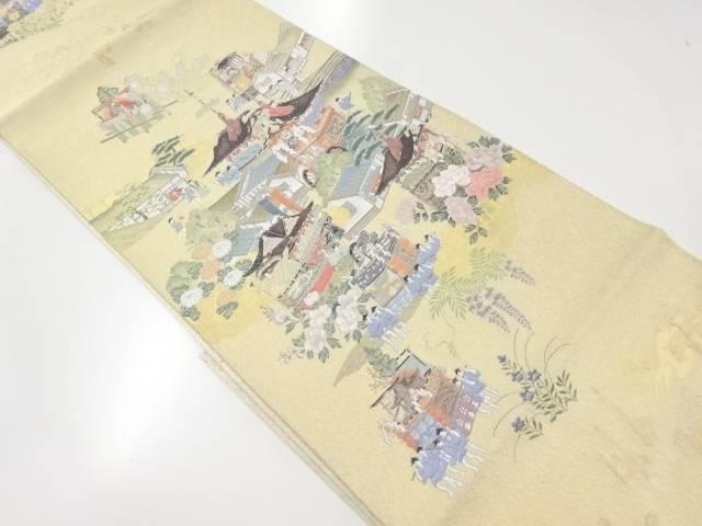 未使用品 本金寿光織祇園祭模様織出袋帯【リサイクル】【着】 宗sou