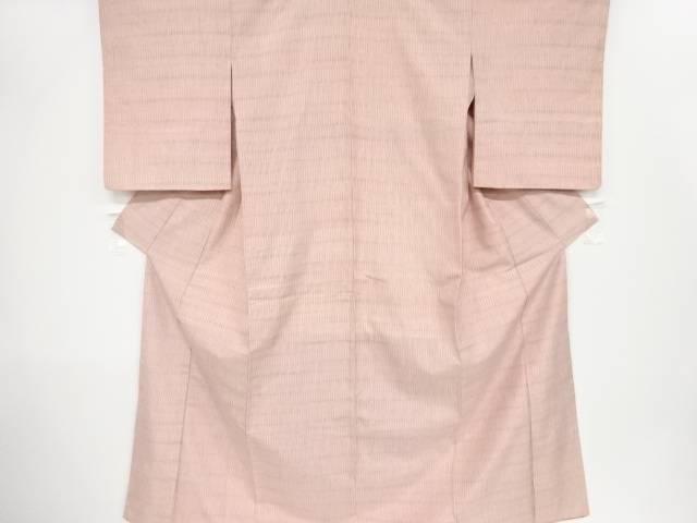 変わり縞織出手織り紬着物【リサイクル】【中古】【着】 宗sou