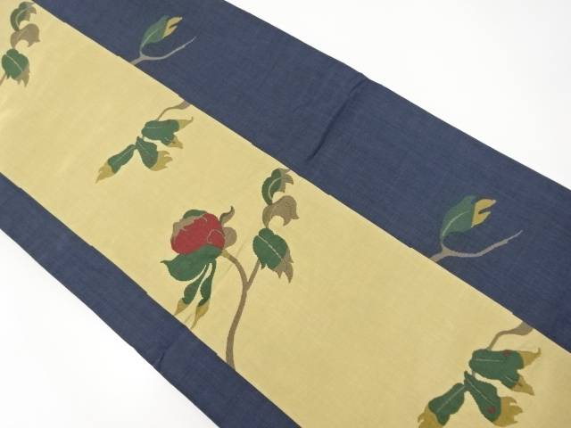 木屋太製 枝花模様織り出し袋帯【リサイクル】【中古】【着】 宗sou