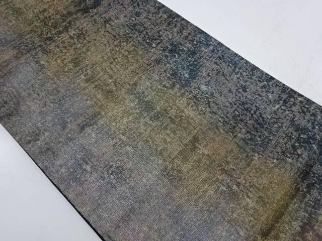 未使用品 引箔抽象模様袋帯【リサイクル】【着】 宗sou