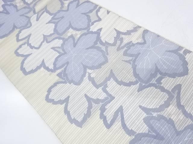 草の実模様織出し袋帯【リサイクル】【中古】【着】 宗sou