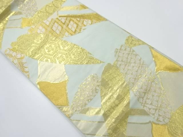 値引きする 川島織物製 竹笹に古典柄模様織出し袋帯【リサイクル】【】【着】 宗sou, 一志郡 ec027966