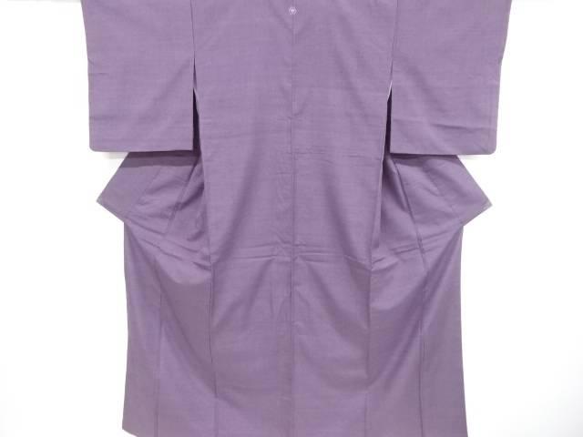 手織り真綿紬一つ紋着物【リサイクル】【中古】【着】 宗sou